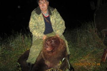 На медведя на овсах